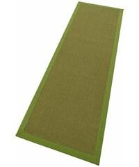 Sisal-Läufer Dortmund gewebt Dekowe grün 12 (B/L: 80x250 cm)