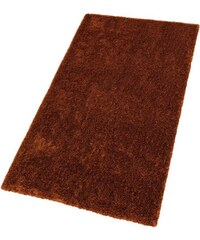 Hochflor-Teppich Emotion Höhe 27 mm handgetuftet SCHÖNER WOHNEN KOLLEKTION orange 1 (B/L: 70x140 cm),2 (B/L: 90x160 cm),3 (B/L: 140x200 cm),4 (B/L: 170x240 cm),6 (B/L: 200x300 cm)