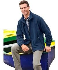 HAJO Fleece-Jacke in Stay fresh Qualität blau 44/46,48/50,52/54,56/58,60/62