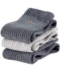 Socken (6 Paar) Baur grau 35-38,39-42,43-46,47-49