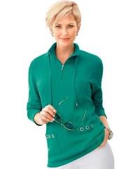 COLLECTION L. Damen Collection L. Shirt mit Wiener Nähte vorne grün 36,38,40,42,44,46,48,50,52,54