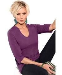 CLASSIC INSPIRATIONEN Damen Classic Inspirationen Shirt mit 3/4-Ärmel lila 36,38,40,42,44,46,48,50,52,54