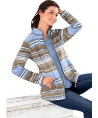 CLASSIC BASICS Classic Basics Fleece-Jacke mit schützendem Stehkragen blau 38,40,42,44,46,48,50,52,54,56