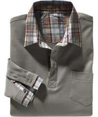 Poloshirt mit Knopfleiste und Brusttasche Catamaran grün 44/46,48/50,52/54,56/58,60/62,64/66
