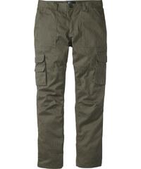 bpc selection Pantalon cargo Regular Fit Straight, N. vert homme - bonprix