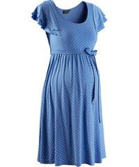 bpc bonprix collection Slavnostní těhotenské šaty s puntíky bonprix