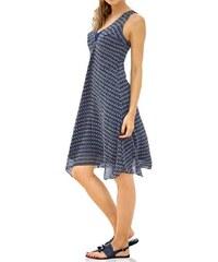 Rick Cardona Dámské letní návrhářské šaty s potiskem marine