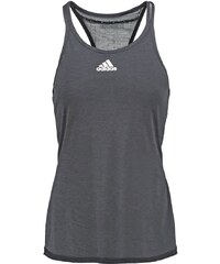 adidas Performance UNCONTROL Top chill black/matte silver