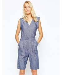 2nd Day - Chambray-Overall - Blau