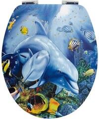 WC-Sitz »Delphin«, Mit Absenkautomatik