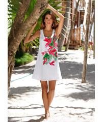 bpc selection Robe de plage blanc femme - bonprix