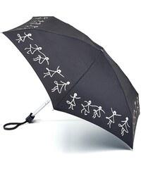 Fulton London Dámský skládací deštník Lulu Guinness Tiny-2 Dancing Girls