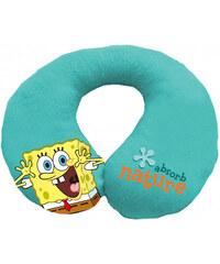 Eurasia Dětský cestovní polštářek SpongeBob 80110 23x17 cm