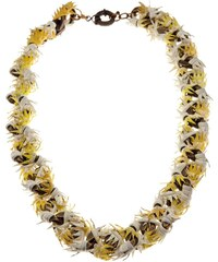 Annelise Michelson Thorny Leather Necklace