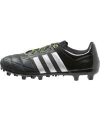 adidas Performance ACE 15.3 FG/AG Fußballschuh Nocken black/silver metallic/solar yellow