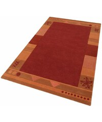 Teppich exklusiv Estepona handgetuftet reine Schurwolle THEKO EXKLUSIV orange 7 (B/L: 240x320 cm),8 (B/L: 290x390 cm)