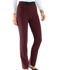 CLASSIC BASICS Damen Classic Basics Hose mit Gummizug vorne und hinten lila 19,20,21,22,23,24,25