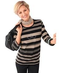 Damen Collection L. Shirt mit effektvollen Metallplättchen COLLECTION L. grau 36,38,40,42,44,46,48,50,52,54