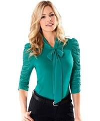LADY Damen Lady Shirt mit 3/4-Ärmel grün 36,38,40,42,44,48,52,54