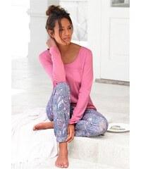 Petite Fleur Pyjamahose Paradise ideal zu kombinieren bunt 32/34,36/38,40/42,44/46,48/50,52/54,56/58