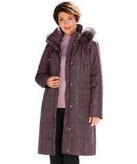 Damen Classic Mantel mit Druckknopfleiste CLASSIC rosa 38,40,42,44,46,48,50,52,54