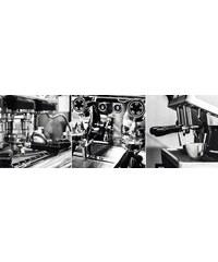 Deco Panel Erstellen von Espresso 90/30 cm HOME AFFAIRE schwarz