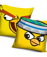 Povlak na polštářek Angry Birds Žlutý