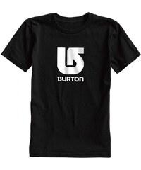 Triko Burton Logo Vertical true black 2015 dětské
