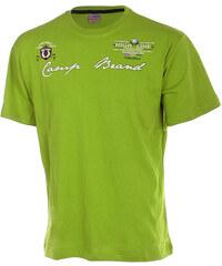 TopMode Pánské tričko světle zelená
