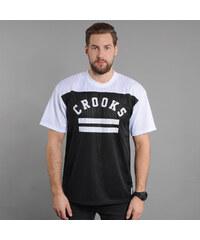 Crooks & Castles General Crooks Football Tee černý / bílý
