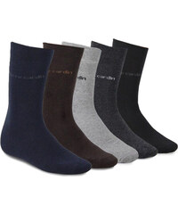 Lesara 18er-Set Pierre Cardin Business-Socken - Grau - 39-42