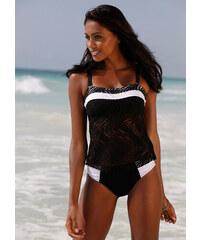 BODYFLIRT Tankini (Ens. 2 pces.) noir maillots de bain - bonprix