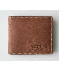 Peněženka WILD by Loranzo hnědá