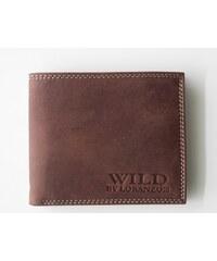 WILD by Loranzo!!! Peněženka Wild by Lorazno hnědá