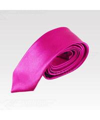Saténová kravata Wayfarer růžová 465