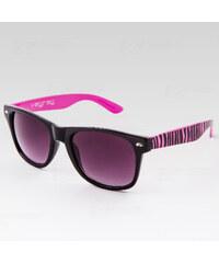 VeyRey Brýle Nerd DuoZebra růžové