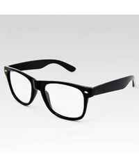 VeyRey Brýle Wayfarer čiré černé