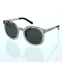 VeyRey Sluneční brýle Vintage stříbrné