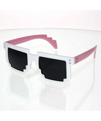 VeyRey Brýle Robot bílo-růžové