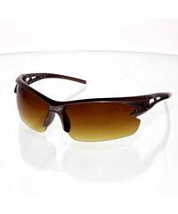 VeyRey sluneční sportovní brýle Cyklo hnědé
