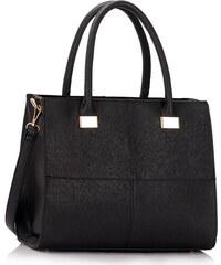 L&S Fashion (Anglie) Kabelka LS00153 černá