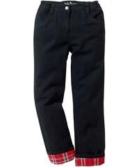 John Baner JEANSWEAR Termo kalhoty s teplou, flanelovou podšívkou bonprix