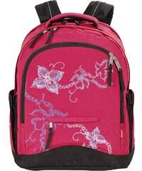 4YOU Schulrucksack, »Rucksack Compact - Flower Lace«