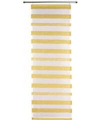 VHG Schiebegardine Woody (1 Stück mit Zubehör) gelb 1 (H/B: 110/60 cm),2 (H/B: 145/60 cm),3 (H/B: 160/60 cm),4 (H/B: 175/60 cm),5 (H/B: 225/60 cm),6 (H/B: 245/60 cm)
