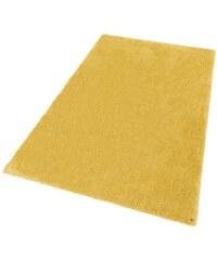 Hochflor-Teppich Soft Höhe 30 mm handgearbeitet Tom Tailor gelb 1 (B/L: 50x80 cm),2 (B/L: 65x135 cm),3 (B/L: 140x200 cm),4 (B/L: 160x230 cm),5 (B/L: 190x190 cm),6 (B/L: 190x290 cm)