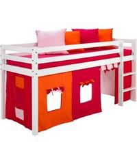 Kinder Halbhohes Bett (Set 4-tlg.) HOPPEKIDS weiß
