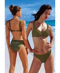 Plavky ARIZONA, plavky také v nadměrné velikosti levně (vel.54B skladem) 36 olivová B