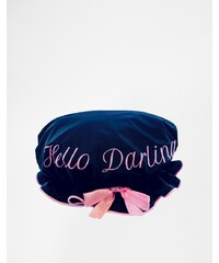 "Beauty Extras Duschkappe ""Hello Darling - Transparent"