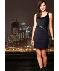 Dámské společenské šaty na zip černé