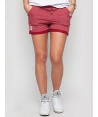 Diamante Chicks Classic Shorts Raspberry